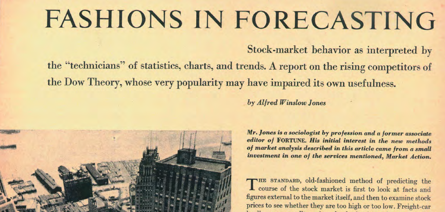 A History of Technical Analysis   Winton