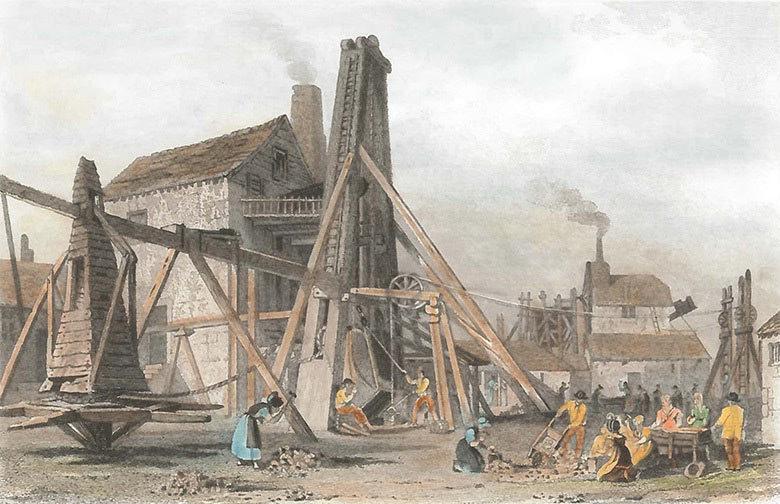 Cornish Copper Mine